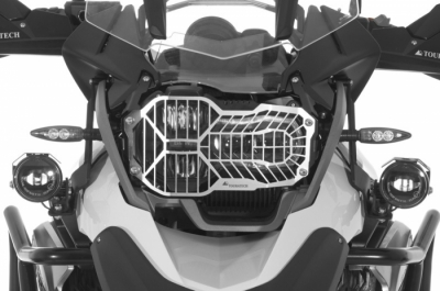 RVS Koplampbeschermer BMW R1200GS LC met quick remove