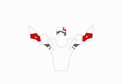 tank cover stickerset R1200GS/GSA-LC