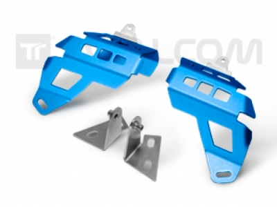 TT® - Right and Left Protectors Set for O.E.M. additional Led Lights R1200ADV LC Rally Blue