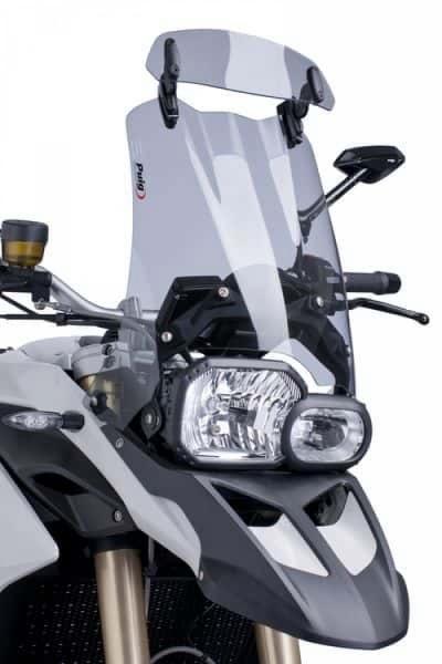 Opzetruit / deflector -smoked- BMW GS GSA S1000XR