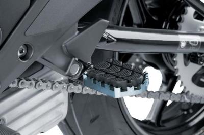 Enduro voetsteunen BMW R1200GS/GSA LC Zilver