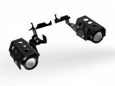 EXTRA MIST LAMPEN R1200GS 04-07 black