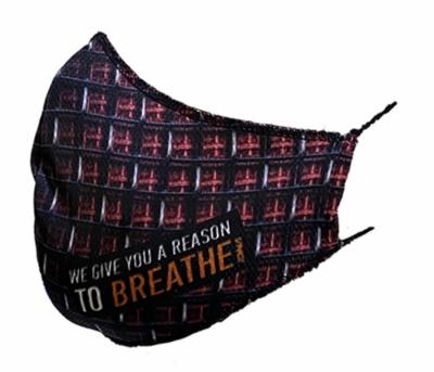 Beter ademend mondkapje van DNA filters