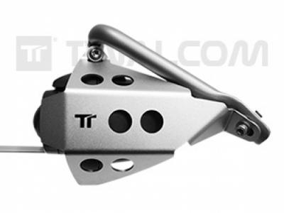 TT® - L + R originele mist lamp beschermers BMW R1200GSA Zwart