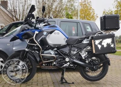 BMW R1200GSA ADVENTURE Reflectie