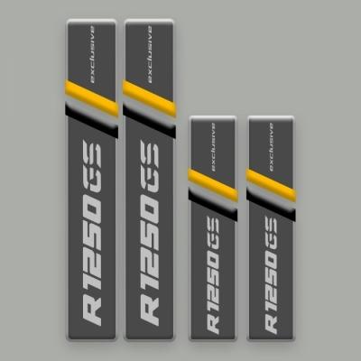 GS HP Exclusive Kofferstickers reflecterend