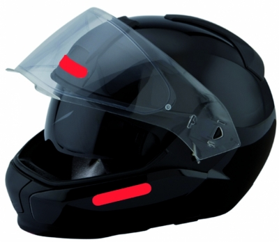 Helm reflectie sticker ROOD