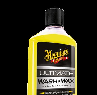 Kit bevat ULTIMATE WASH & WAX