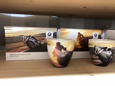 BMW Limited Edition koffie set Motorrad Edition