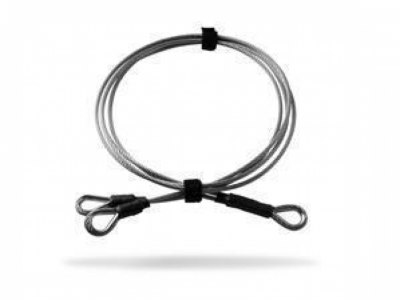TT® - Antitheft stainless steel double cable ø 3