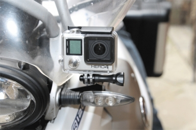 GoPro mount side R1200GS 2004-2013