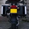 Reflectie stickers BMW LC VARIO Zijkoffers Rood