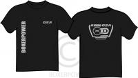 T-shirt BMW R1200GSA (2014) korte mouw zwart
