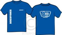 T-shirt BMW R1200GSA (2014) korte mouw blauw