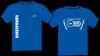T-shirt BMW R1200GS (2013) Lange mouw Blauw