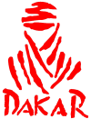 TOUAREG NOMAD DAKAR sticker Rood