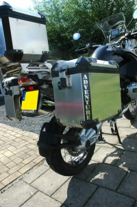 BMW R1200GSA ADVENTURE Reflectie