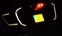 Reflectie stickers BMW R1200RT zijkoffers achterkant