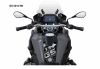 R1250GS GSA tankpad black white