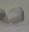 klepdeksel cilinder beschermer LINKS R1200** tot mod 2010