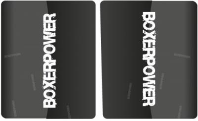 Voorvork beschermer set stickers 187x180mm